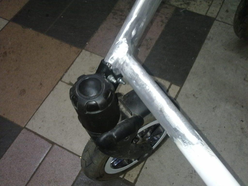Сварка каркаса детской коляски