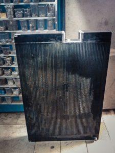 Сварка радиатора пресса