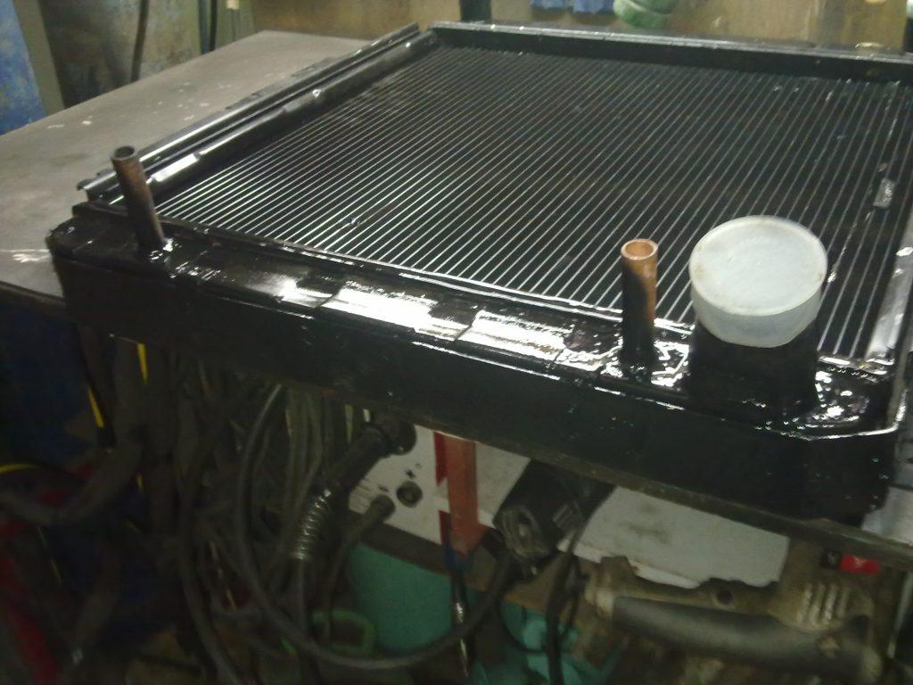 Пайка радиатора