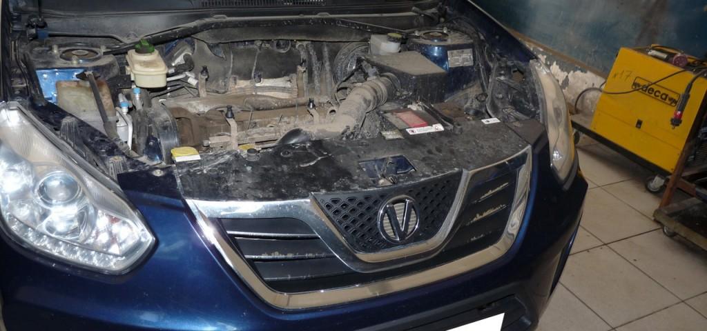 Ремонт китайского авто Vortex.